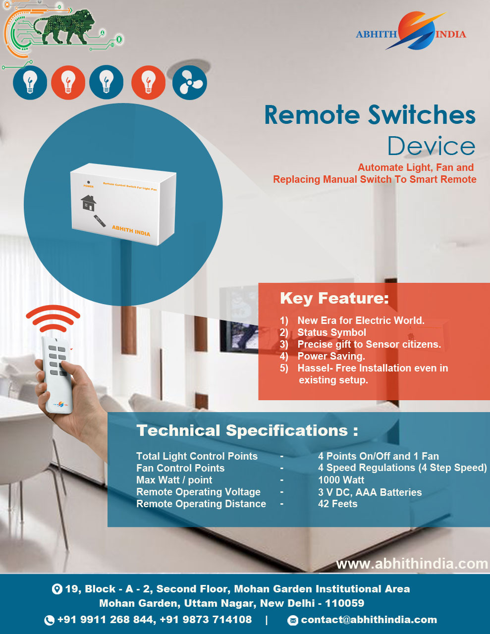 Remote Ir Switches