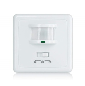 PIR motion Sensor Wall Mounted with button